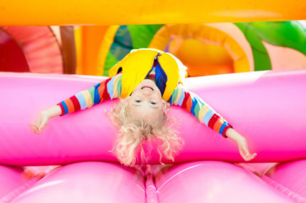 Kids Jumping Castles for up to Eight-Year-Olds